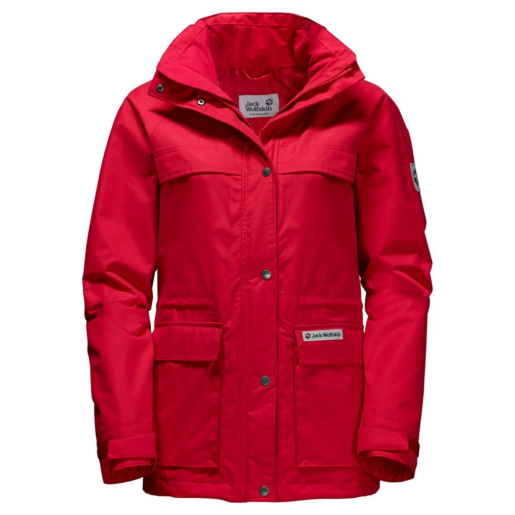 on sale 5dacf dbecd Jack Wolfskin Damen Rainy Days Parka im Biwak Onlineshop kaufen
