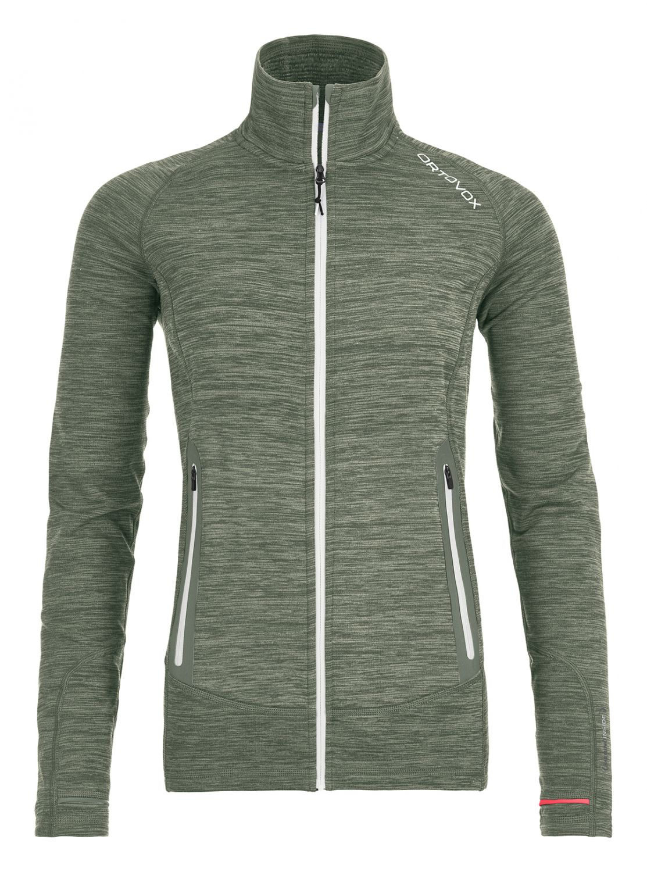 Ortovox Damen Fleece Light Melange Jacket im Biwak