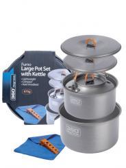 360° Furno Large Pot Set with Kettl