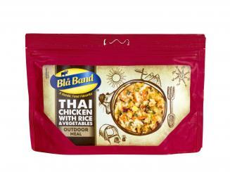 Thai-Hühnchen mit Reis und Gemüse (640 kcal pro Beutel)