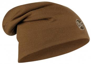 Herren Heavyweight Merino Wool Hat Loose Mütze
