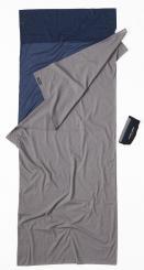 2 Color TravelSheet Baumwolle Hüttenschlafsack (Wärmeleistung +2,9°C / Max. Körpergröße 190cm / Gewicht 0,41kg)