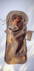 Kinder KidSack Baumwolle Hüttenschlafsack (Kinder / Wärmeleistung 2,9°C / Max. Körpergröße 155cm / Gewicht 0,29kg)