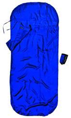 Kinder KidSack Seide Hüttenschlafsack (Kinder / Wärmeleistung 5,3°C / Max. Körpergröße 155cm / Gewicht 0,095kg)
