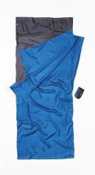 TravelSheet Seide Hüttenschlafsack zweifarbig (Wärmeleistung +5,3°C / Max. Körpergröße 190cm / Gewicht 0,16kg)