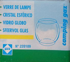Camping Gaz Ersatzglaskugel für Bivouac 270 / 270 PZ / Mont Blanc