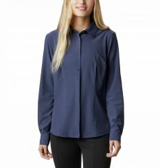 Damen Saturday Trail Stretch Longsleeve Shirt