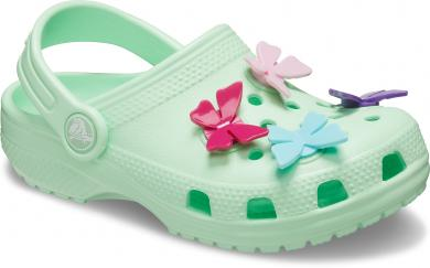 Kinder Classic Butterfly Charm Clog