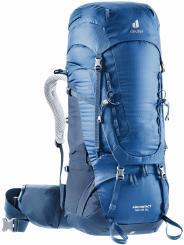 Damen Aircontact 40 + 10 SL Trekkingrucksack (Volumen 40 + 10 Liter / Gewicht 2,17kg)