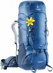 Damen Aircontact 40+10 SL Trekkingrucksack (Volumen 40 + 10 Liter / Gewicht 2,17kg)