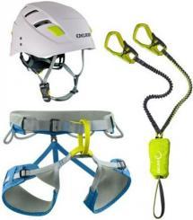 Set Gurt Jay + Klettersteigset Cable Kit + Helm Zodiac