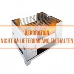 Edelstahl Grill BBQ-Box