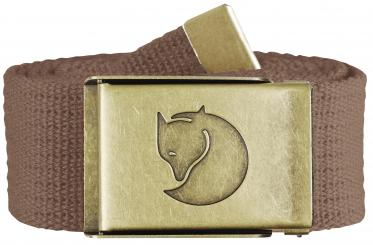 Canvas Brass Belt (4 cm breit / max. Länge 120 cm)