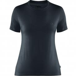 Damen Abisko Wool Kurzarm T-Shirt