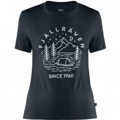Damen Abisko Wool Tältplats T-Shirt