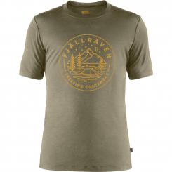 Herren Abisko Wool Tältplats T-Shirt