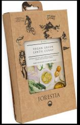 Veganes Curry mit grünen Linsen (350 g / 248,5 kcal)