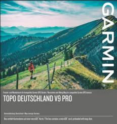 TOPO Deutschland v9 Pro MicroSD Speicherkarte