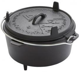 Askja Pot (Dutch Oven) 4 Liter mit Füßen
