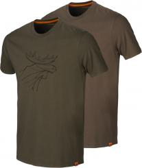 Herren Graphic T-Shirt (2er Pack)
