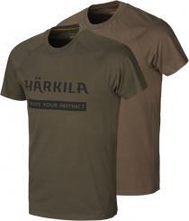 Herren Logo T-Shirt (2er Pack)