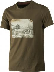 Herren Odin Moose & Dog T-Shirt