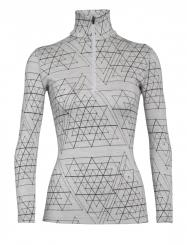 Damen 250 Vertex Longsleeve Half Zip Ice Structure