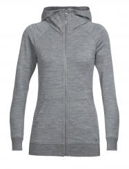 Damen Crush LS Zip Hood