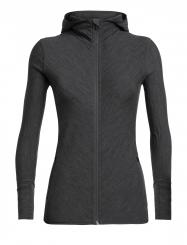 Damen Descender Longsleeve Zip Hood Jacket