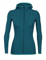 Damen Descender LS Zip Hood