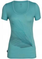 Damen Tech Lite Rundhals Scoop Plume