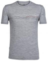 Herren Tech Lite Short Sleeve Rundhals T-Shirt
