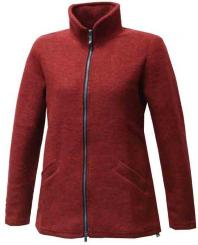 Damen Brodal Long Classic Wolljacke