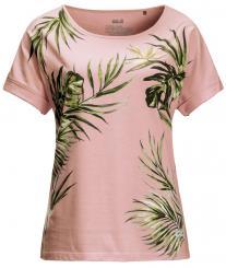 Damen Tropical Leaf T-Shirt
