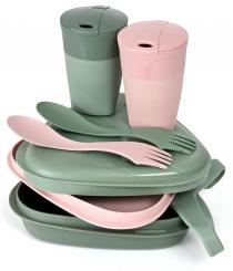 Pack'n Eat BIO Picknickset (für 2 Pers.)