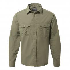 Craghoppers Herren NosiLife Kiwi LS Hemd