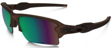 Flak 2.0 XL Prizm Shallow Water Polarized Matte Root Beer Sportbrille
