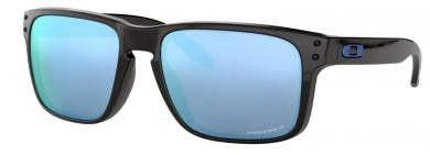 Holbrook Prizm Deep Water Polarized Polished Black Lifestyle-Sportbrille