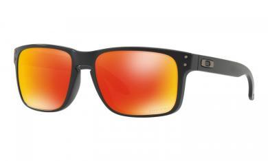 Holbrook Prizm Ruby Matte Black Life Style- Sport Brille