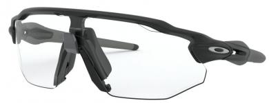 Radar EV Advancer Clear-Black Photochromic Iridium Sportbrille
