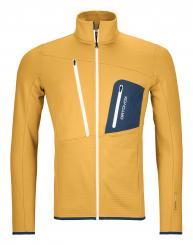 Herren Fleece Grid Jacket