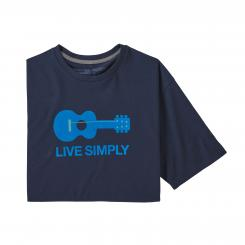 Herren Live Simply Guitar Responsibili-Tee