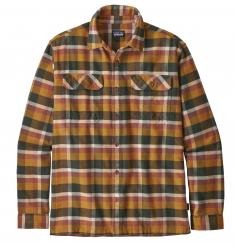 Herren Long-Sleeved Fjord Flannel Shirt