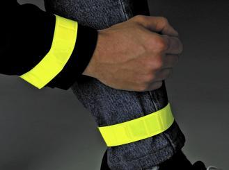 BasicNature Klettband leuchtgelb 1 Paar
