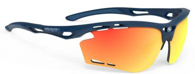 Propulse Blue Navy RP Octics Multilaser Orange Sportbrille