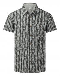 Herren Hemp Button Up Kurzarmhemd