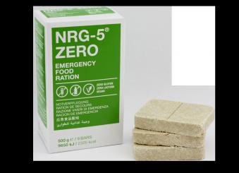 NRG-5 ZERO Notration - glutenfrei (9 Riegel / 500g/ 2325kcal)