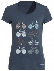 Damen Cyclist V Fahrrad-T-Shirt