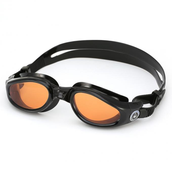 Aqua Sphere Kaiman Amber Lens Schwimmbrille L
