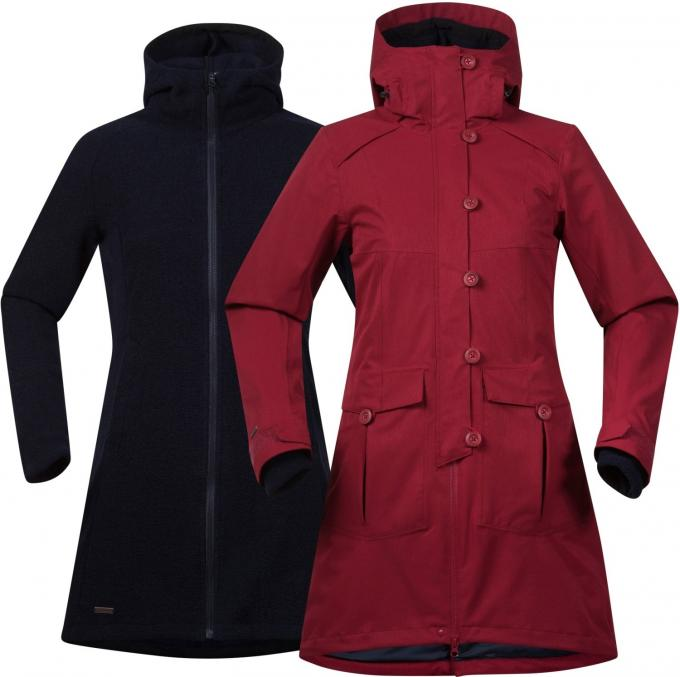 Damen Bjerke 3in1 Coat